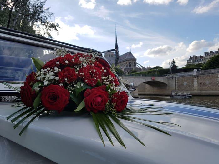Location 2CV mariage à Paris