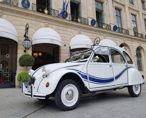 Louer 2cv Paris avec chauffeur - Ritz