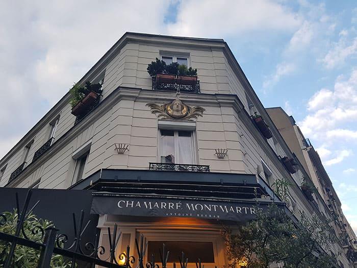 Soirée romantique à Paris en 2CV - Restaurant