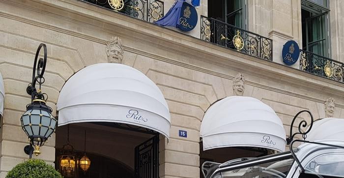 Visite insolite et originale de Paris en 2CV - Ritz